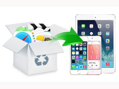 Làm thế nào để khôi phục dữ liệu đã xóa trên điện thoại iPhone/iPad/iPod?